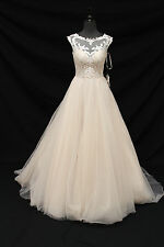 Rebecca Ingram by Maggie Sottero Carrie Wedding Gown Bridal Dress sz 8 NWT