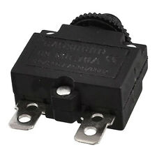 AC 125/250V 10A Circuit Breaker Thermal Overload Protector Black LW