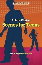 Actor's Choice: Scenes for Teens-ExLibrary