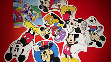 50 MINI MICKEY MOUSE VINYL STICKERS PARTY BAG FILLERS