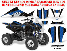 Amr racing decoración Graphic kit ATV suzuki ltz & Kawasaki KFX Diamond Race B