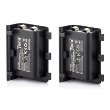 2X 2400mAh Rechargeable Replacement Battery Pack for XBOX ONE Controller + Cable