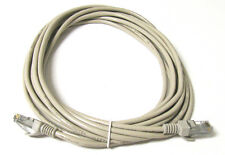 20FT RJ45 CAT5 CAT5E ETHERNET LAN NETWORK Beige CABLE