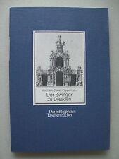 Der Zwinger zu Dresden Matthäus Daniel Poppelmann bibliophilen Taschenbücher