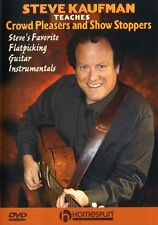 Teaches Crowd Pleasers & Show Stoppers Learn Play Folk Pop Guitar Music DVD