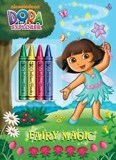 Color Plus Chunky Crayons: Fairy Magic (Dora the Explorer) by Golden Books...