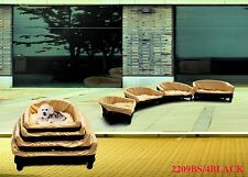 """Strong Cute Dog Bed w/Cushion Cat Bed Pet Basket Pet Suppliers  Large Length30"""""""