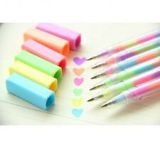 1x Kinds Rainbow Color Highlighter Pen 1.0mm Deco Diary Photo Albums Card Making