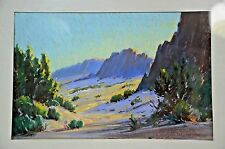 Louis Heinzman 1930s Original Oil Landscape Painting National Recognized Artist