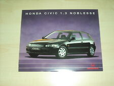 60675) Honda Civic 1.3 - Noblesse - Prospekt 05/1994