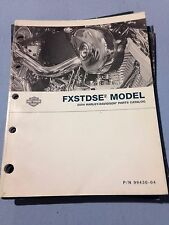 2004 FXSTDSE HARLEY OFFICIAL FACTORY PARTS CATALOG  MANUAL SE CVO SOFTAIL DEUCE