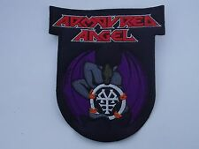 ARMOURED ANGEL SPEED METAL EMBROIDERED PATCH