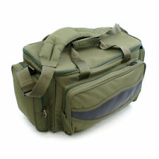 Padded Fishing Carryall Tackle Bag Insulated GREEN CARP HOLDALL