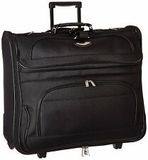 Folding Garment Bag Luggage Carry On Suitcase Travel Wheels Clothing Suits