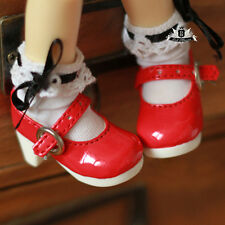 Yosd 1/6 BJD Shoes Yosd Red Lolita Shoes Dollfie Luts Dollmore AOD DZ DIM DOD DZ