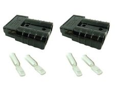 Anderson SB50 Connector Kit Black 8 Awg 8 Ga 2 Pack with Free shipping