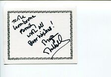 Megan Mullally Will And Grace Childrens Hospital Signed Autograph Bookplate