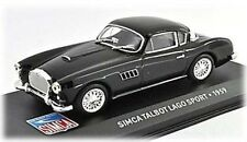 W80 Simca - Talbot Lago Sport 1959 1/43 Scale Black New in Display Case