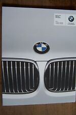 2010 Bmw owners Service warranty maintenance schedule Manual 6 5 3 1 series