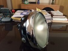 "8"" Lucas With Panel Headlight Headlamp flat glass Bsa Triumph Norton Ajs Sunbeam"