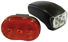 Bike Bicycle Cycle Safety Bright Front & Rear Back Multi Fuction LED Light Kit
