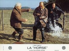 JEAN GABIN CHRISTIAN BARBIER LA HORSE  1970 PHOTO D'EXPLOITATION VINTAGE #11