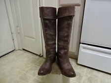 "18"" KNEE HIGH FRYE BOOTS GREAT CONDITION NOT MUCH USED WON 7 B MORTORCYCLE"