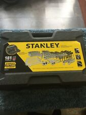 Stanley STMT75931 181 pc Mechanics Tool Set NEW