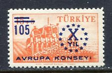 30920) TURKEY 1959 MNH** Council of Europe 1v. Scott# 1440