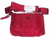 LULULEMON~NWT~ROSEWOOD~RSWD *ESSENTIAL MAT CARRIER* CROSS-BODY TRAVEL BAG PURSE