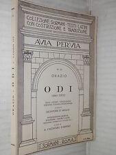 ODI Libro Terzo Orazio Salvatore Di Meglio A Calzavara D Arpino Sormani 1970 di