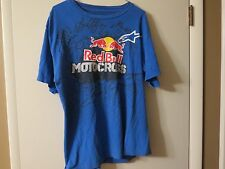 Red Bull Motocross T Shirt, Size Large , Great Condition