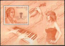 Belgique**Reine Elisabeth Concours Musique-Violon-Piano-Bloc-Chanteuse-2001-NSC