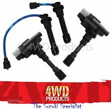 Ignition Coil and Lead SET - Suzuki Baleno G16B 1.6 (99-01)