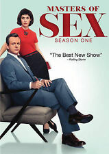 Masters of Sex: First Season 1 (DVD, 2014, 4-Disc Set)
