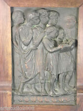 "Wandrelief nach Donatello ""Sängerknaben"" Relief, 1900/1920"