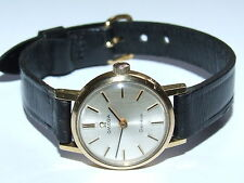 Beautiful Looking Vintage 1970 OMEGA 18ct Gold/P Ladies, Lovely Working Example!