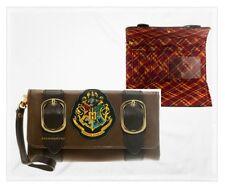 Official Harry Potter Hogwarts Gryffindor Crest Satchel Folder Purse Wallet