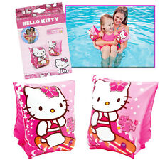 HELLO KITTY ARMBANDS INFLATABLE SWIMMING CHILDREN GIRLS POOL SWIM PINK FLOAT