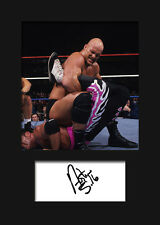 STEVE AUSTIN #2 (WWE) Signed Photo A5 Mounted Print - FREE DELIVERY