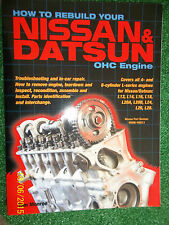 NISSAN DATSUN OHC L-SERIES ENGINE RESTORATION MANUAL L28 L26 L24 L20 L18 L16 L14