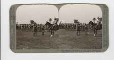 WWI Stereoview (Realistic) - Our gallant defenders of Suez Canal at El-Kantara