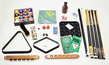 Pool Table Best Deluxe Billiard Accessory Kit Pool Cue Sticks Bridge Ball Sets