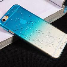 Funda para Estuche Rígido Gota De Lluvia para Varios Teléfonos Apple iPhone + protector de pantalla