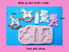 Baby Toys  Mould - Make Cake Toppers Gum Paste Cake Decorating