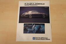 69975) Cadillac Seville Prospekt 09/1983