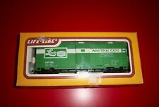HO Scale Linde Box Car w/ Sliding Door Life-Like #8475 In Original Box