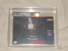 NEW Mary Shelley's Frankenstein Super Nintendo Game VGA 80 NM SILVER SNES Sealed