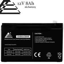 12V 8AH 7.2 7Ah Sealed Lead Acid Battery replaces GT12080-HG; for FiOS and UPS