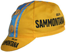 Classic Sammontana Gelati cycling cap, Italian made Retro fixie